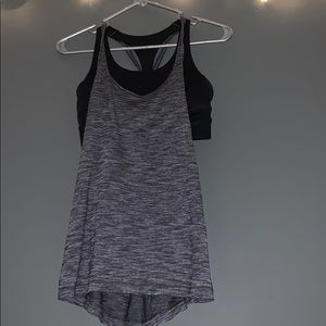 Lululemon open back tank